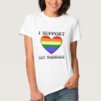 I Support Gay Marriage Shirts