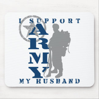 I Support Husband 2 - ARMY Mouse Pad