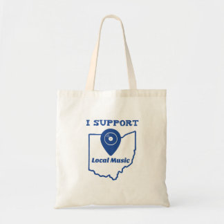 I Support Local Music (Ohio) Tote