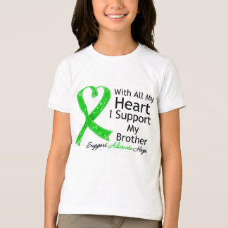 I Support My Brother With All My Heart T-shirts