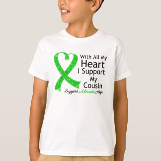 I Support My Cousin With All My Heart T-Shirt