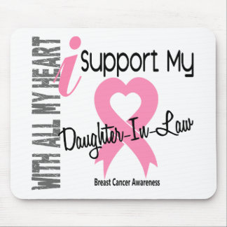 I Support My Daughter-In-Law Breast Cancer Mouse Pad