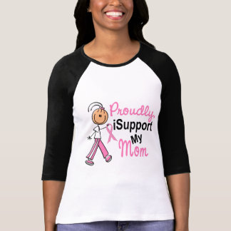 I Support My Mom SFT Breast Cancer T-Shirts & Gift