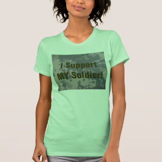 I Support My Soldier and Hooah T-Shirt
