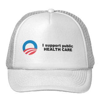 I support public health care trucker hats