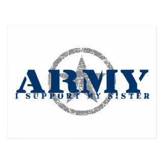 I Support Sister - ARMY Postcard