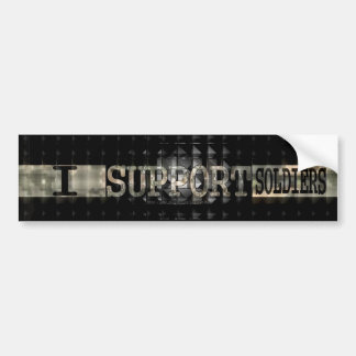 I Support Soldiers! Bumper Sticker