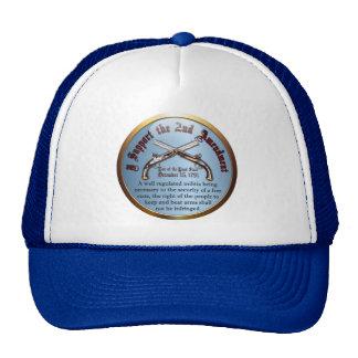 I Support the 2nd Amendment Mesh Hat