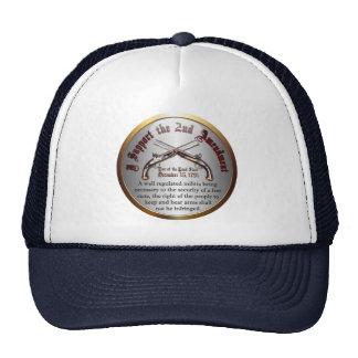 I Support the 2nd Amendment Hats