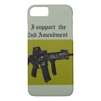 i support the 2nd amendment iPhone 7 case