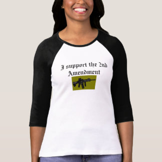 I support the 2nd Amendment Shirt