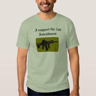 I support the 2nd amendment tee shirt