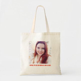 I Support The Art & Writing of Linda M. Crate Tote Bag