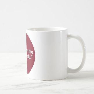 I support the dress code basic white mug