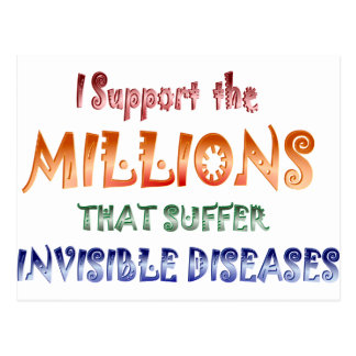 I support the Millions ...2 Postcard