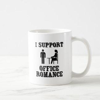 I Support The Office Romance Basic White Mug