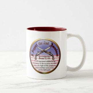 I Support the Second Amendment Mug
