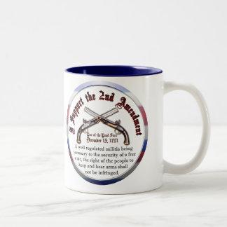 I Support the Second Amendment Coffee Mugs