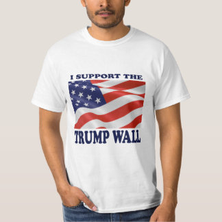 I Support the Trump Wall t-shirt