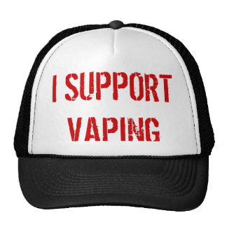 I SUPPORT VAPING CAP