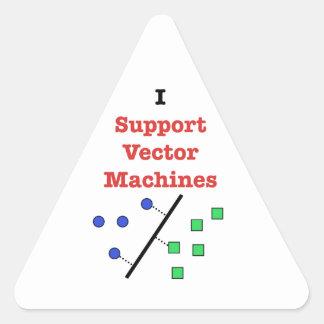I Support Vector Machines Triangle Sticker