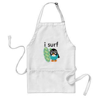 I Surf Penguin Aprons