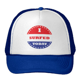 I Surfed Today Cap