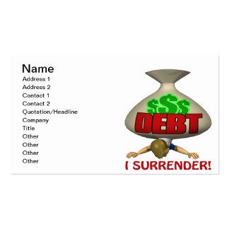 I Surrender Business Cards