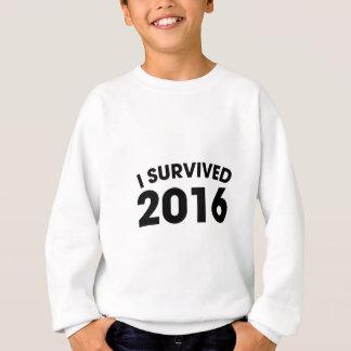 I Survived 2016 Sweatshirt