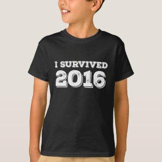 I survived 2016 T-Shirt