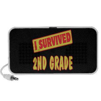 I SURVIVED 2ND GRADE iPod SPEAKERS