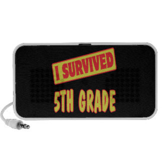 I SURVIVED 5TH GRADE iPhone SPEAKER