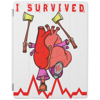 I survived a heart attack iPad cover
