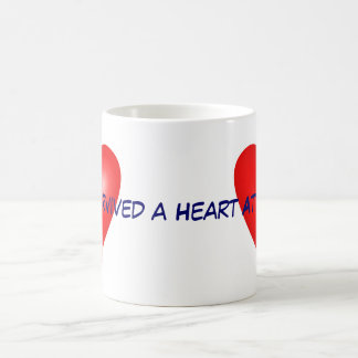 I survived a Heart Attack Coffee Mugs