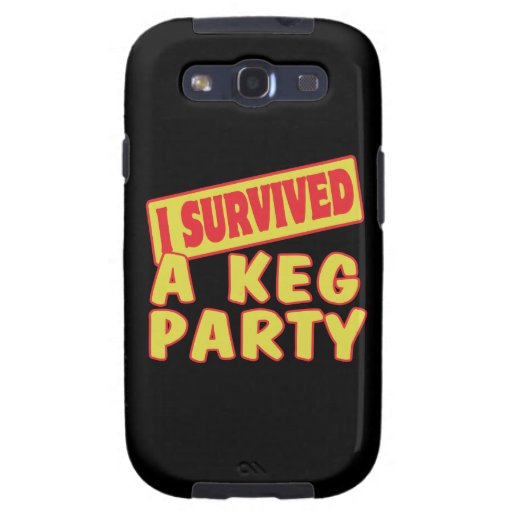 I SURVIVED A KEG PARTY SAMSUNG GALAXY SIII CASES