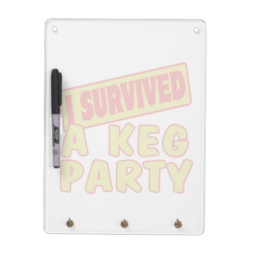 I SURVIVED A KEG PARTY Dry-Erase BOARDS