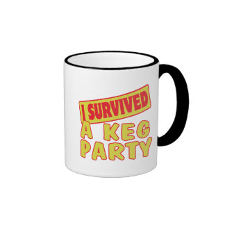 I SURVIVED A KEG PARTY MUG