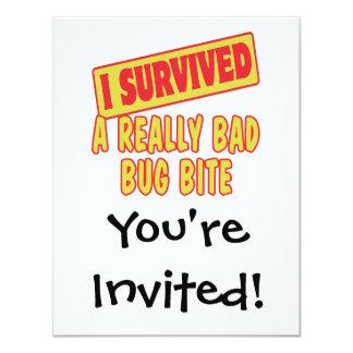 I SURVIVED A REALLY BAD BUG BITE CARD