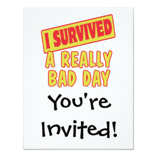 I SURVIVED A REALLY BAD DAY CARD