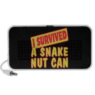 I SURVIVED A SNAKE NUT CAN NOTEBOOK SPEAKERS