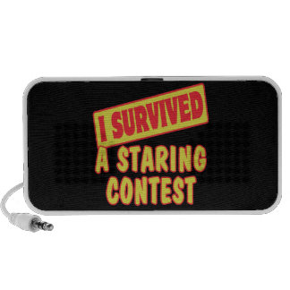 I SURVIVED A STARING CONTEST iPhone SPEAKERS