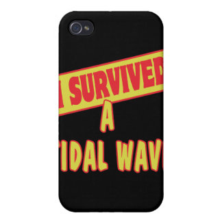 I SURVIVED A TIDAL WAVE COVER FOR iPhone 4