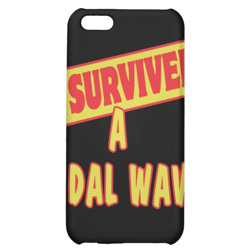 I SURVIVED A TIDAL WAVE CASE FOR iPhone 5C