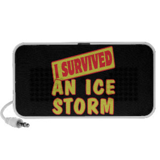 I SURVIVED AN ICE STORM MP3 SPEAKERS