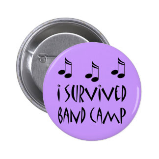I Survived Band Camp 6 Cm Round Badge