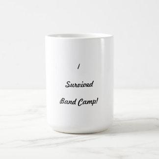 I survived band camp! coffee mug