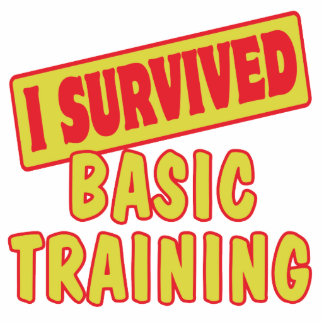 I SURVIVED BASIC TRAINING CUT OUTS