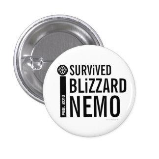 I Survived Blizzard Nemo Button 11