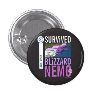 I Survived Blizzard Nemo Button 7