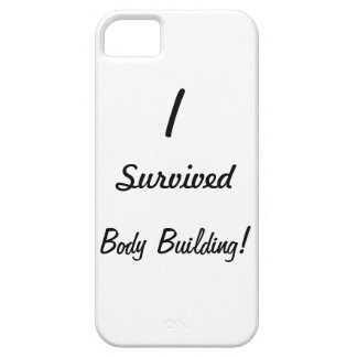 I survived body building iPhone 5 cases